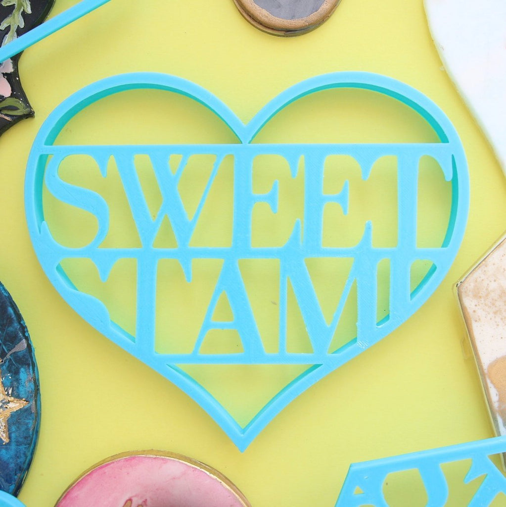 SWEET STAMP: Blank Canvas HEART COOKIE CUTTER