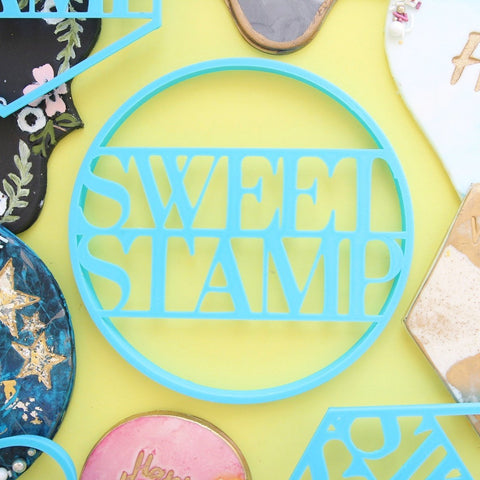 SWEET STAMP: Blank Canvas CIRCLE COOKIE CUTTER