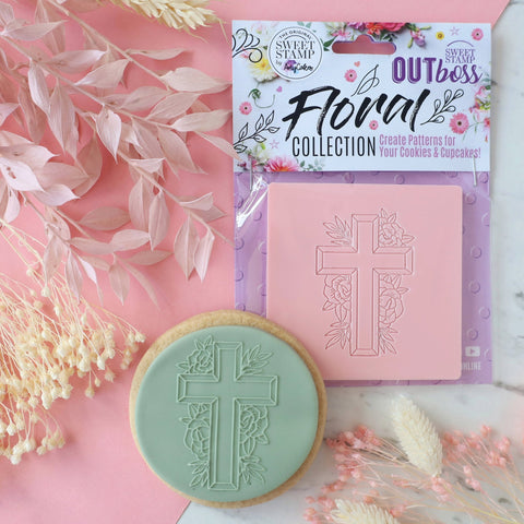 OUTBOSS Floral Collection - FLORAL CROSS