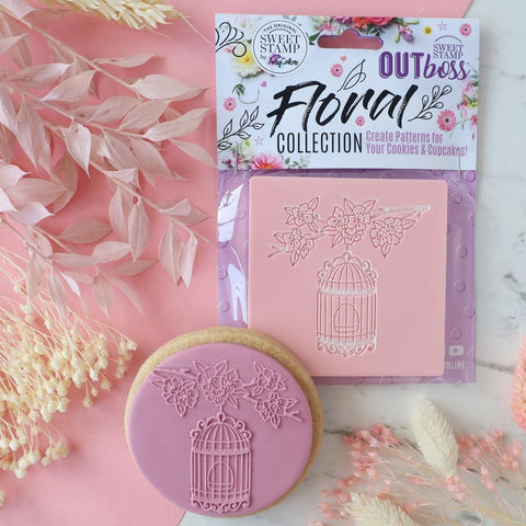 OUTBOSS Floral Collection - BLOSSOMS BIRDCAGE