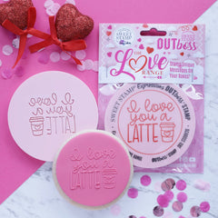 OUTBOSS The Love Range Collection- I LOVE YOU A LATTE