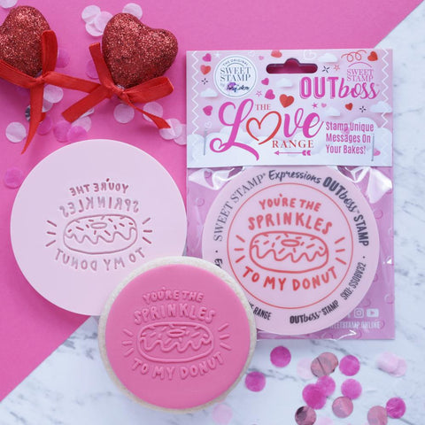 OUTBOSS The Love Range Collection- SPRINKLES TO MY DONUT