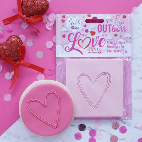 OUTBOSS The Love Range Collection- HEART SKETCH