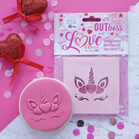 OUTBOSS The Love Range Collection- HEART UNICORN