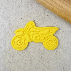 """DIRT BIKE"" Custom Cookie Cutters"