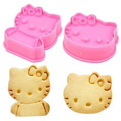 Hello Kitty 2pc Cookie Cutter Set