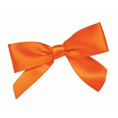 ORANGE: Bows Pack Of 12