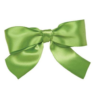 LIME GREEN: Bows Pack Of 12