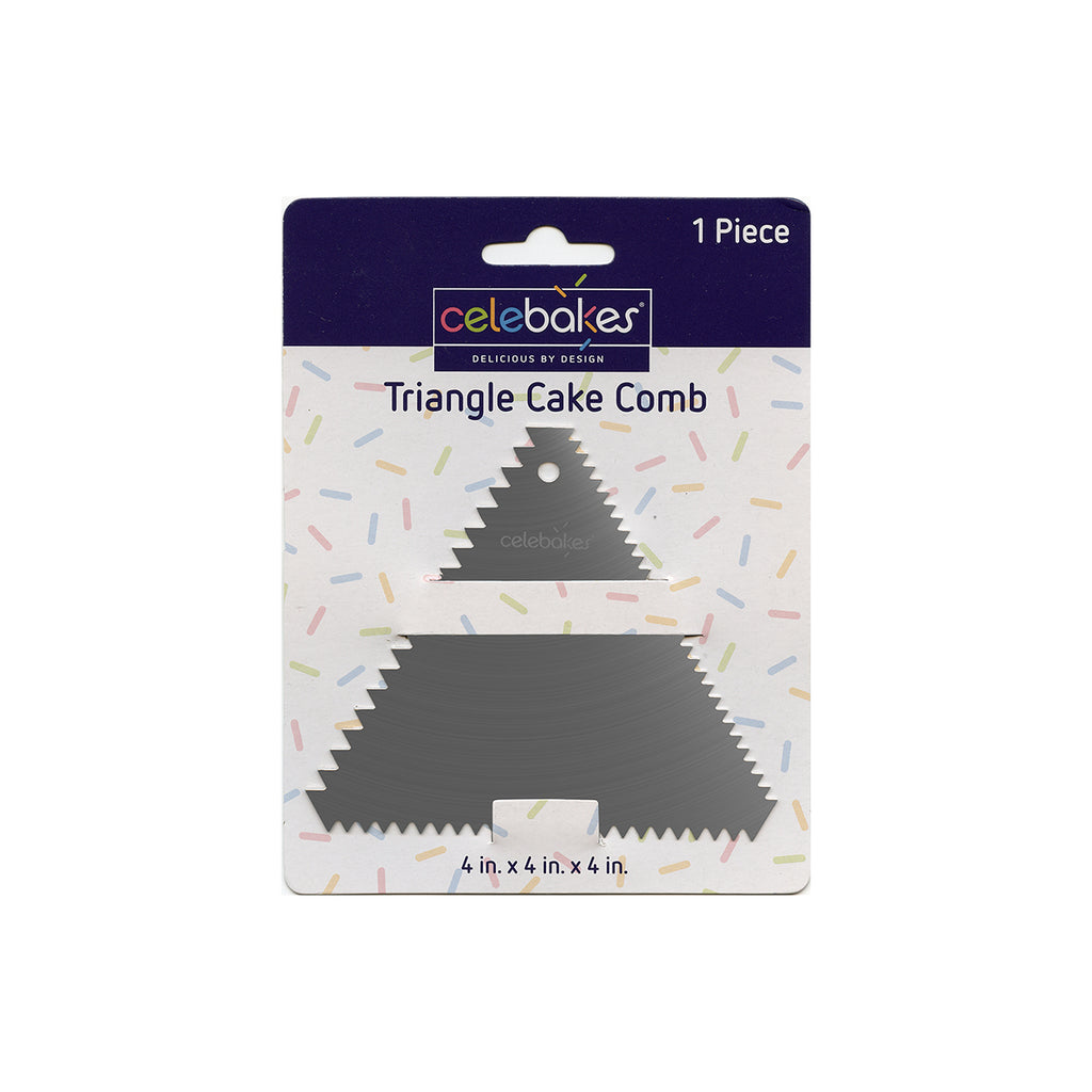 Triangle Stainless Steel Cake Comb