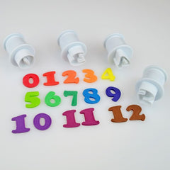 Numbers Plunger Set