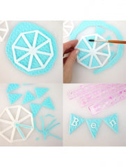 Easy Bunting Cutter Set