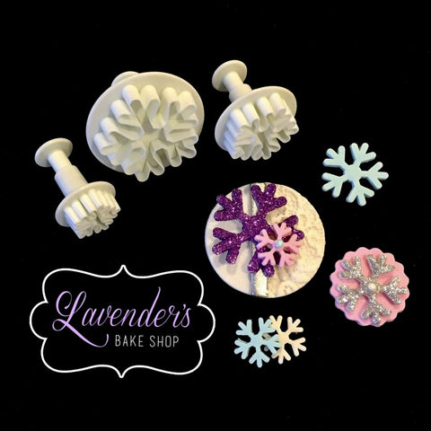 Snowflake Design 2 Plungers