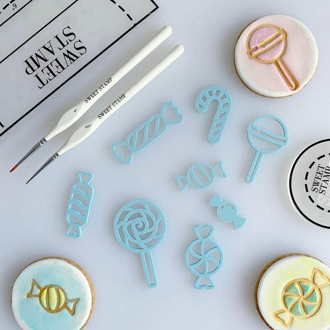 SWEET STAMP: Candy Elements