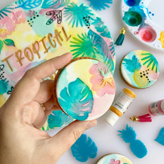 Sweet Stamp: TROPICAL VIBES