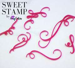 Sweet Stamp: CURLS & SWIRLS