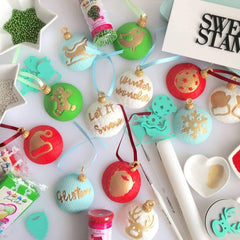 Sweet Stamp: COOKIE Full Set Upper, Lower, Numbers & Symbols