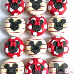 Mickey and Minnie Mouse Plungers