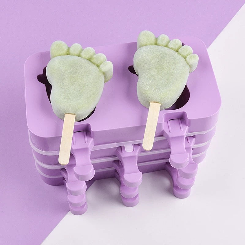 Baby Feet Popsicle Mold