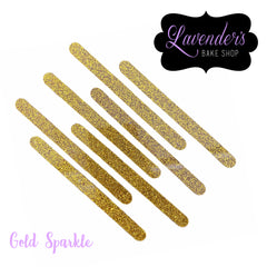 SPARKLE Acrylic Popsicle Sticks