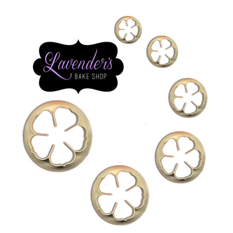 5 Petal Cutter Set of 6