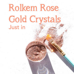 Rolkem Crystals ROSE GOLD