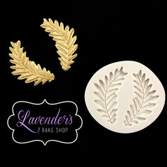 2pc Roman Leaves