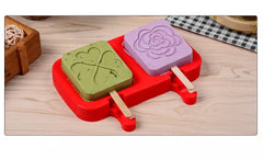 Floral And Heart Popsicle