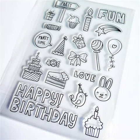 Party Time Clear Stamp Set