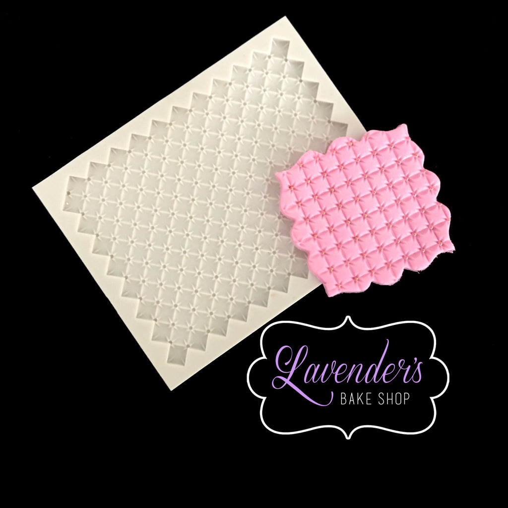 Diamond Quilt Mat 1