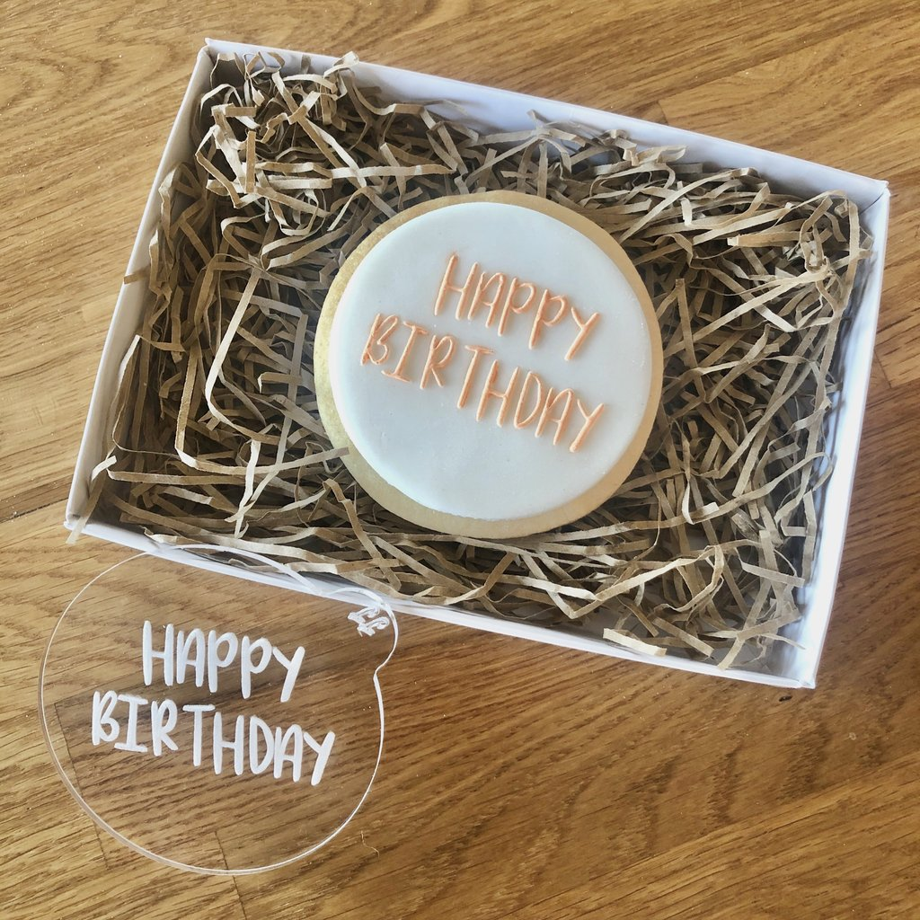 """HAPPY BIRTHDAY SUNNY FONT"" Cookie Embosser Lissie Lou"