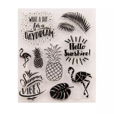 Tropical Clear Stamp Set