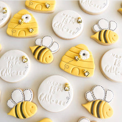 Beehive Cookie Cutter & Embosser