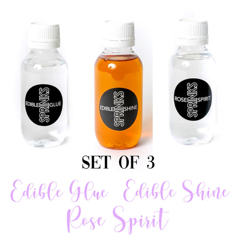 SET Of 3 Sprinks Essentials