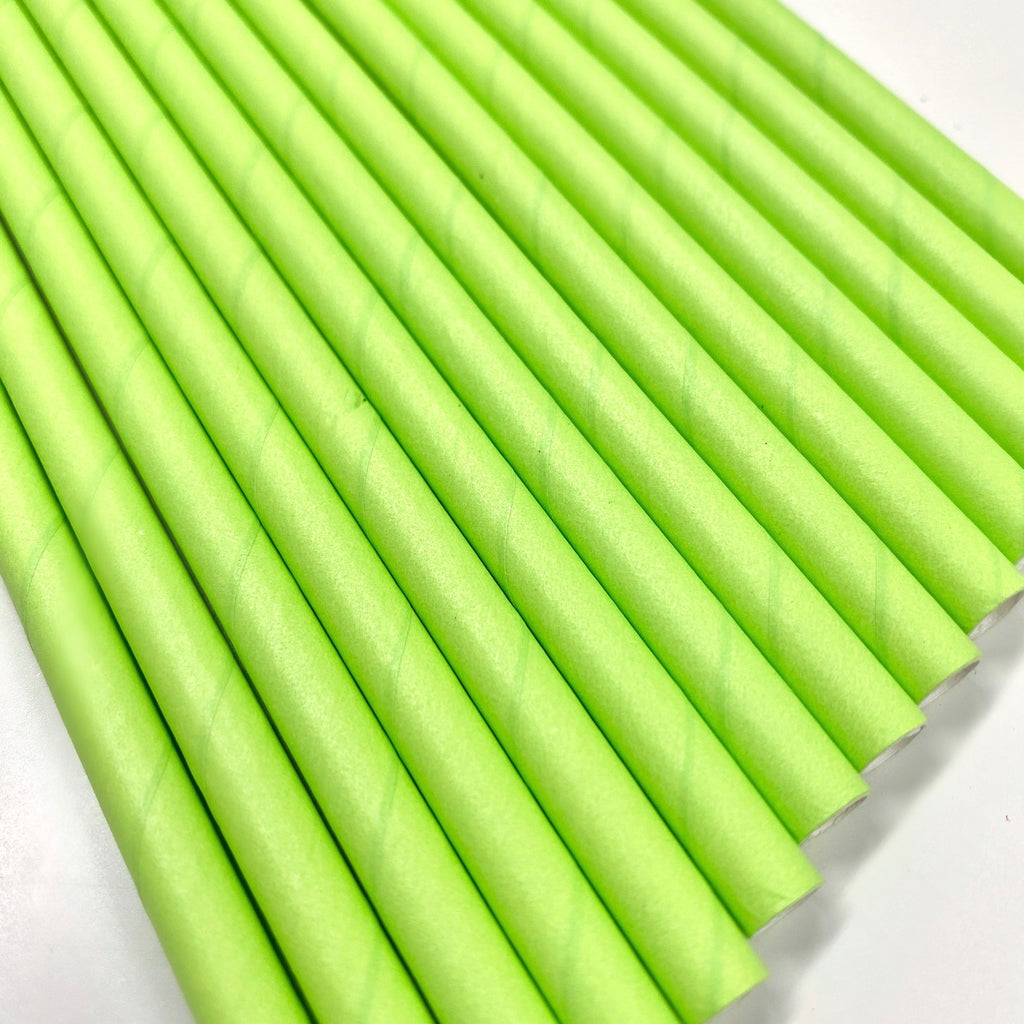 LIME Paper Straws