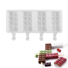 Chocolate Bar Popsicle Mold