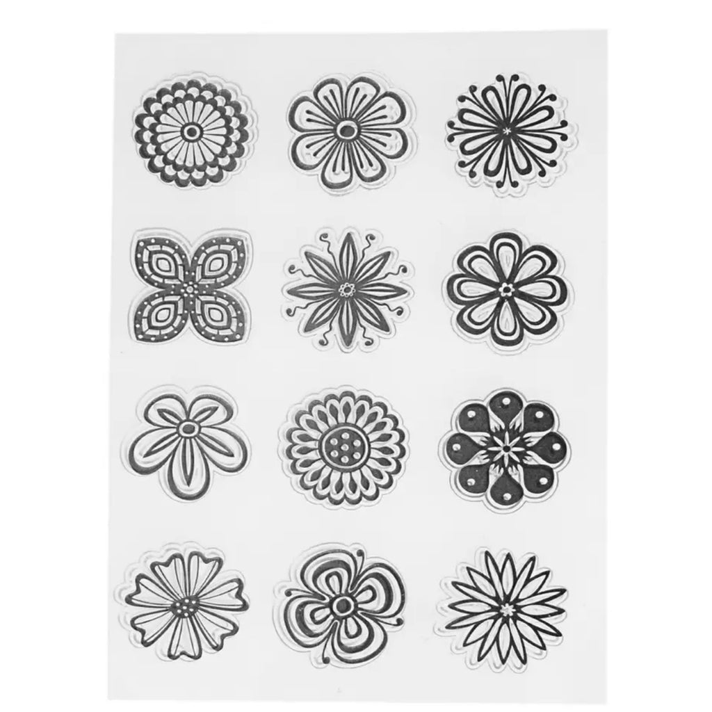 Daisies Clear Stamp Set