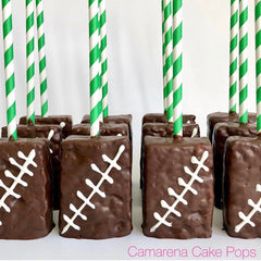 GREEN & White Stripe Paper Straws