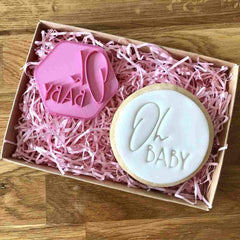 """OH BABY"" Cookie Stamp Lissie Lou"