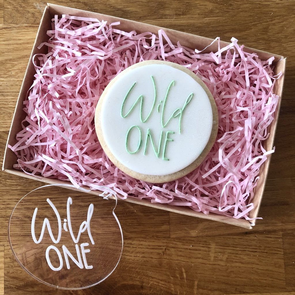 """WILD ONE"" Cookie Embosser Lissie Lou"