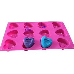 12ct Heart Bon Bons Mat