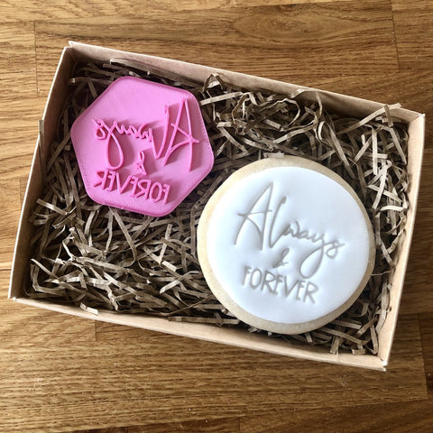 """ALWAYS AND FOREVER"" Cookie Stamp Lissie Lou"