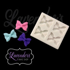 Mini Sequins Bow Quad