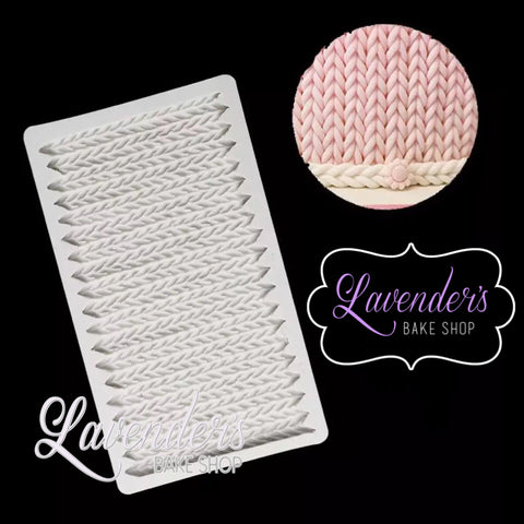 Large Knitted Mat