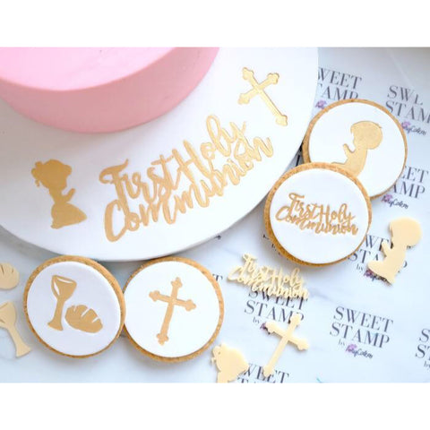 Sweet Stamp: FIRST COMMUNION ELEMENTS