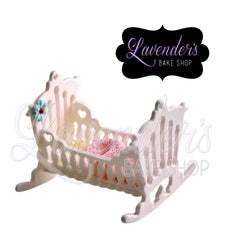 Large 3pc Baby Crib
