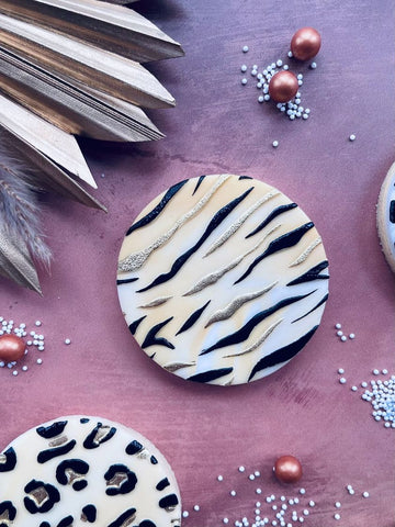 """TIGER ANIMAL PRINT TEXTURE"" Cookie Embosser Lissie Lou"
