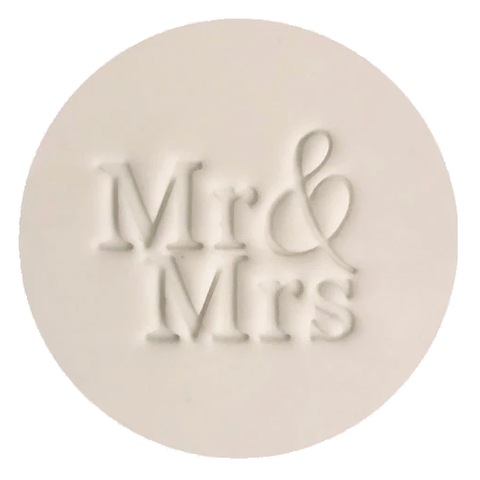"""MR & MRS"" Little Biskut Embosser"