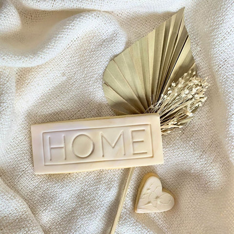 """HOME"" Lissie Lou Stamp Set"