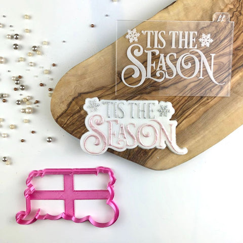 """TIS THE SEASON"" Cookie SET Lissie Lou"