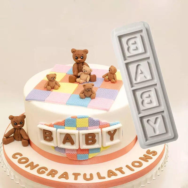 BABY Blocks 4pc